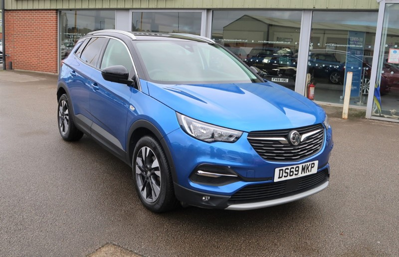 used Vauxhall Grandland X 1.5TD (130Ps) Sport Nav (s/s) ecoTEC Blueinjection SUV 5Dr in louth