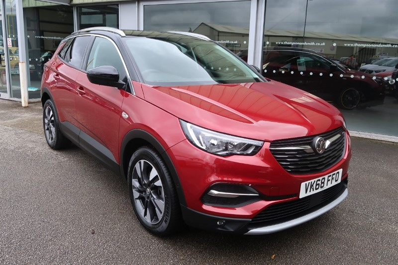 used Vauxhall Grandland X Sport Nav 1.2 (130PS) Turbo 5dr start/stop in louth