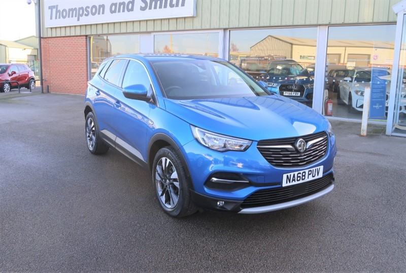 used Vauxhall Grandland X Sport NAV 1.5TD (130PS) ecoTEC Blueinjection s/s 5dr in louth