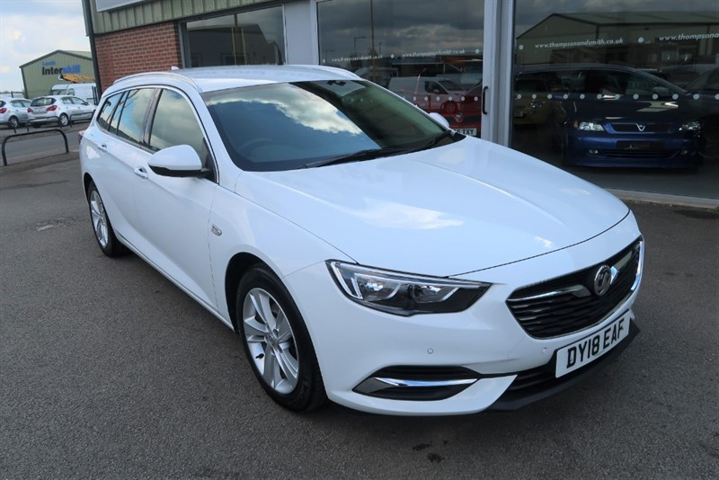 used Vauxhall Insignia Grand Sport Tourer Tech Line Nav 1.6CDTi 110PS 5dr Estate, COMBINED FUEL ECONOMY 65.7 MPG ! ! in louth