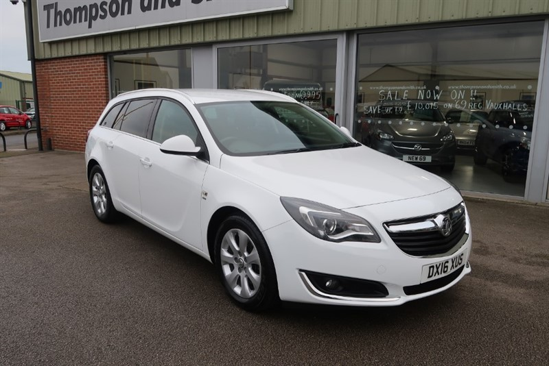 used Vauxhall Insignia Tourer SRi NAV 2.0CDTi 140PS ecoFLEX S/S 5dr Estate in louth