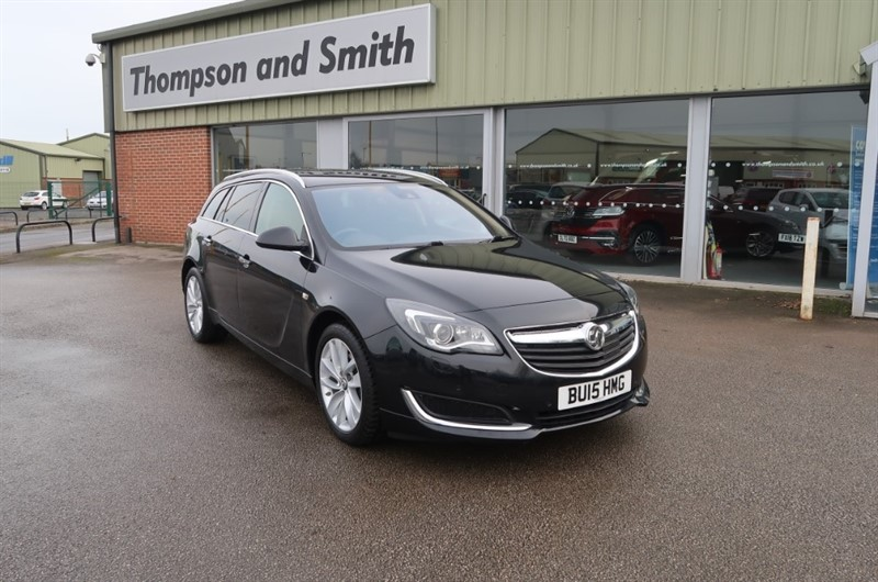 used Vauxhall Insignia Tourer Tech Line NAV 2.0CDTi (163PS) 5dr Estate Automatic in louth