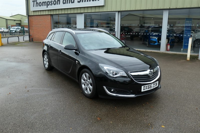 used Vauxhall Insignia SRi NAV 1.6CDTi (136PS) ecoFlex Start Stop 5dr Estate in louth
