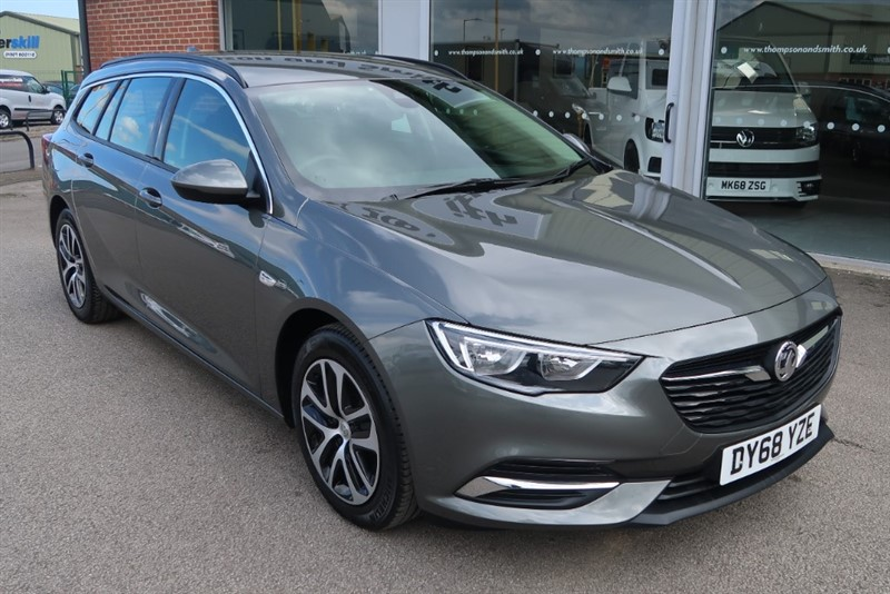 used Vauxhall Insignia Tourer Design Nav 1.6 (136PS) Turbo D ecoTEC BlueInjection 5dr Estate in louth