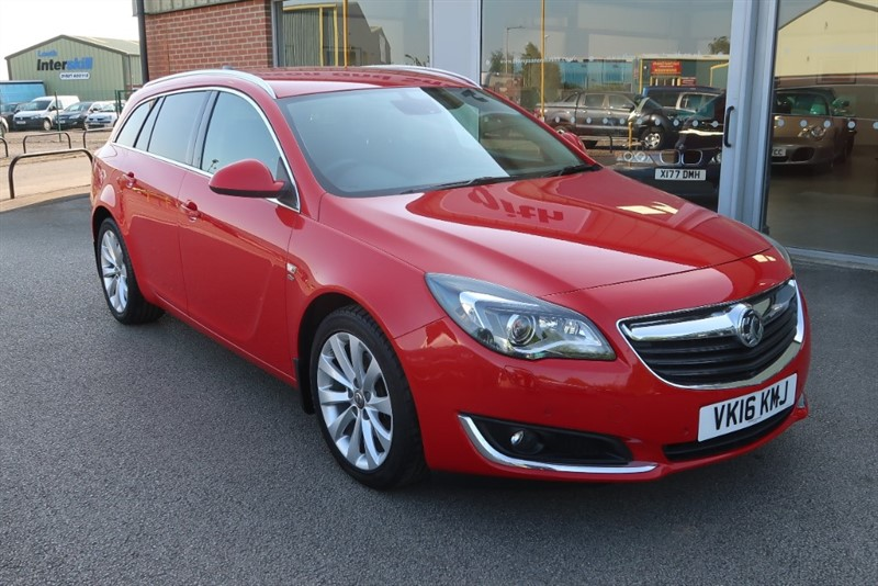 used Vauxhall Insignia Elite Nav 2.0CDTi (170PS) 5dr Estate Auto in louth