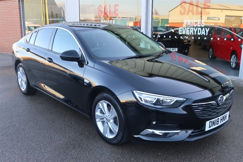 used Vauxhall Insignia Grand Sport SRi Nav 1.6 (110PS) Turbo D ecoTEC BlueInjection 5dr in louth