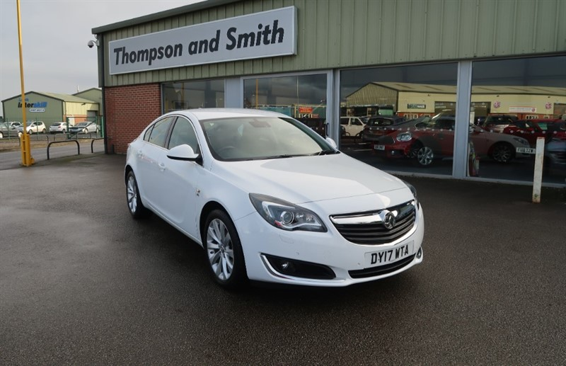 used Vauxhall Insignia 1.6 CDTi (136ps) Elite Nav 5dr Auto in louth