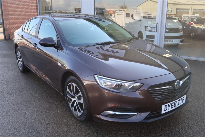 used Vauxhall Insignia Design Nav 1.6 (110PS) Turbo D ecoTEC BlueInjection 5dr, COMBINED FUEL ECONOMY 70.6 MPG ! ! in louth