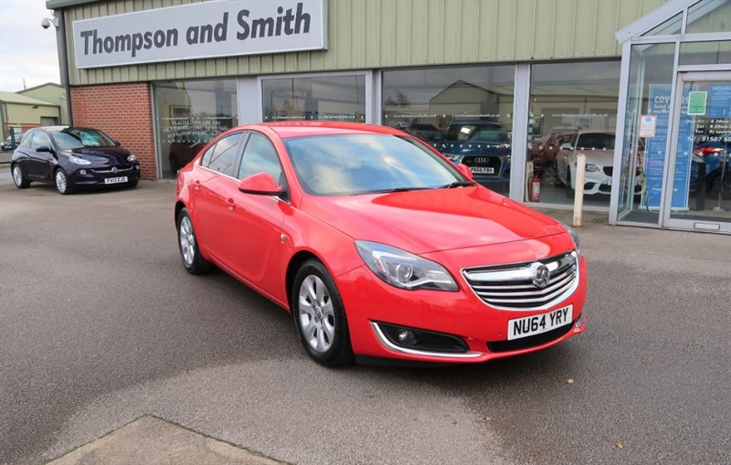used Vauxhall Insignia SRi NAV 2.0CDTi (140PS) ecoFLEX s/s 5dr in louth