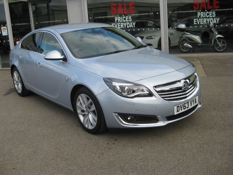 used Vauxhall Insignia Elite NAV 2.0CDTi 140PS ecoFLEX 5dr start/stop in louth