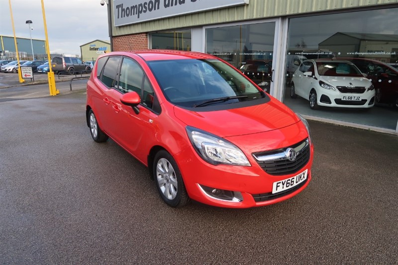 used Vauxhall Meriva Life 1.4i 16v 5dr a/c in louth