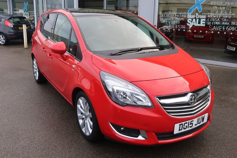 used Vauxhall Meriva SE 1.4i 16v (100PS) 5dr in louth
