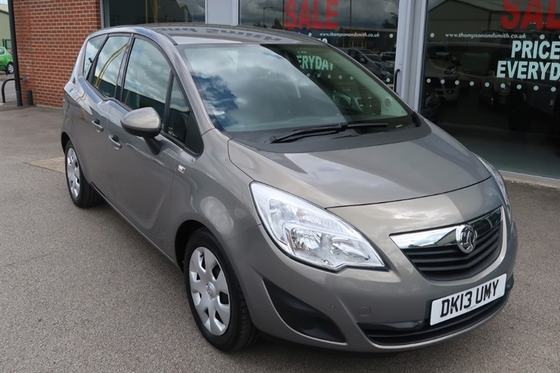 used Vauxhall Meriva Exclusiv 1.7CDTi 130PS 5dr A/C in louth