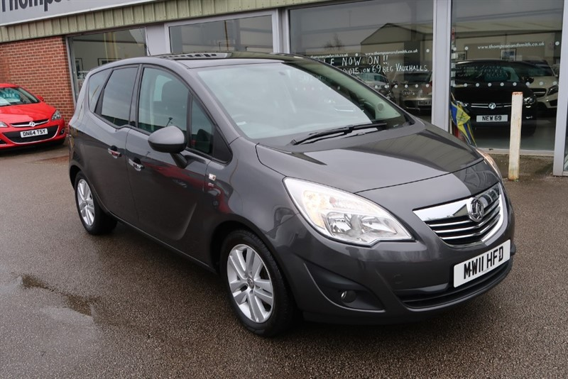 used Vauxhall Meriva 1.4 16v (100ps) SE MPV 5dr in louth