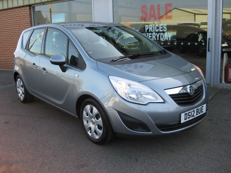 used Vauxhall Meriva Exclusiv 1.7CDTi 130PS 5dr A/C RAC Warranty in louth