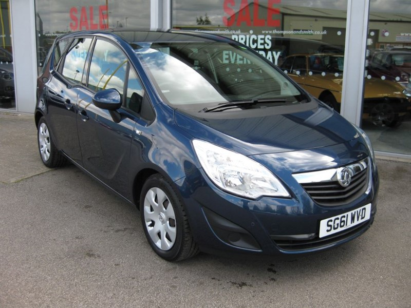 used Vauxhall Meriva Exclusiv 1.7CDTi 100PS 5dr Auto A/C LOW MILEAGE in louth
