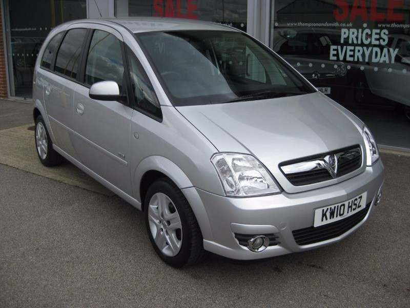 used Vauxhall Meriva Design 1.6i 16v 5dr Easytronic A/C LOW MILEAGE in louth