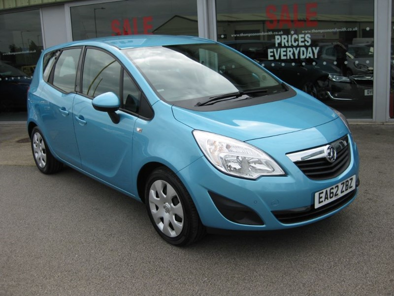 used Vauxhall Meriva Exclusiv 1.4 Turbo 120PS 5dr A/C RAC Warranty in louth