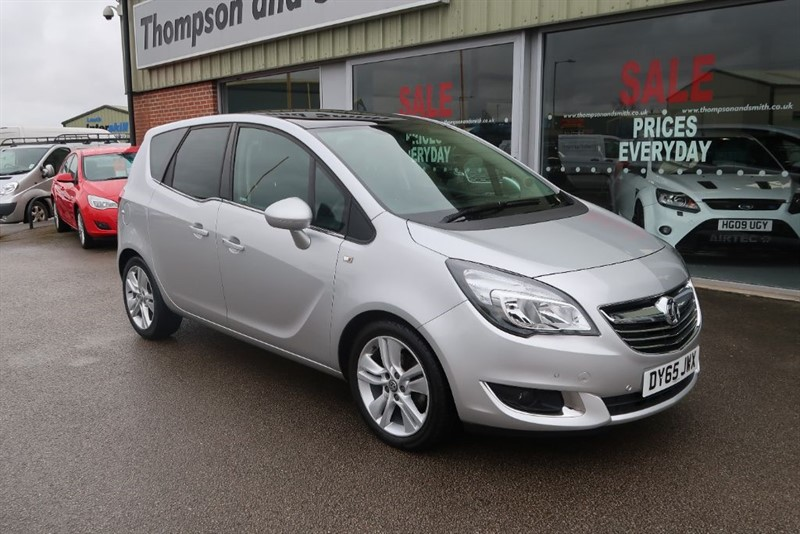 used Vauxhall Meriva SE 1.4i 5dr in louth