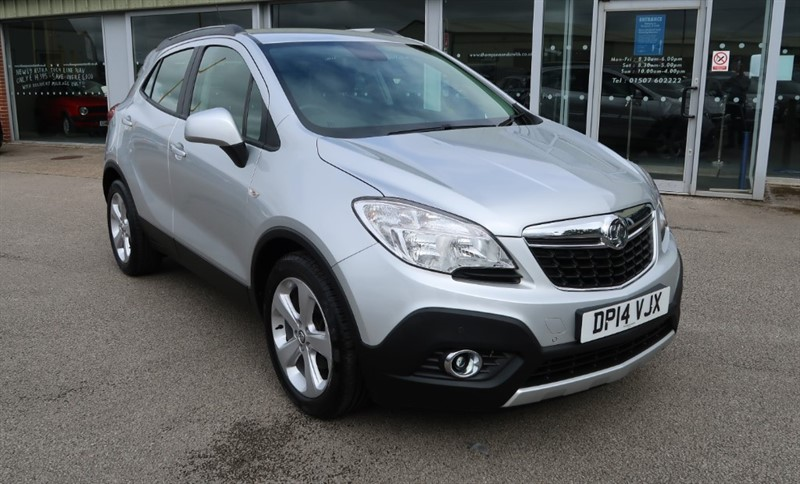 used Vauxhall Mokka Exclusiv 1.7CDTi 130PS 5dr Start Stop £30 TAX in louth