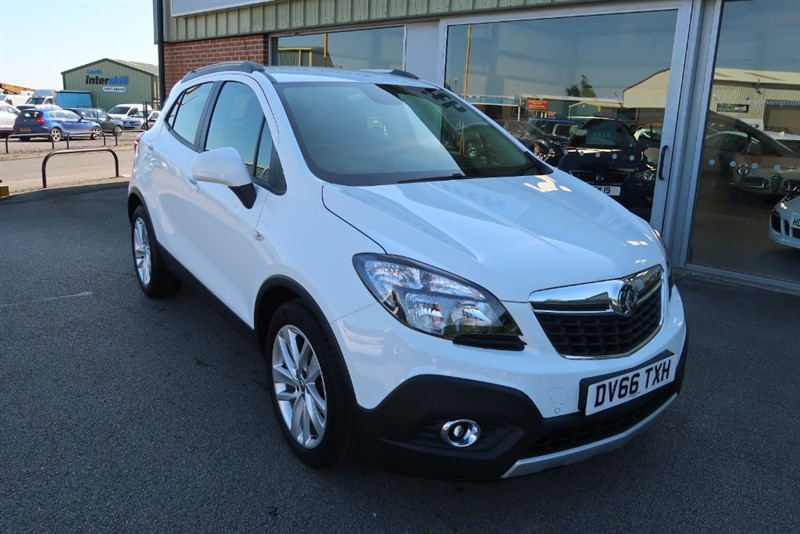 used Vauxhall Mokka Tech Line 1.4i Turbo (140PS) 5dr start/stop in louth