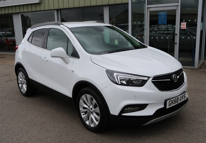 used Vauxhall Mokka X Elite Nav 1.4 16v Turbo 140PS 4X4 Start Stop 5dr in louth