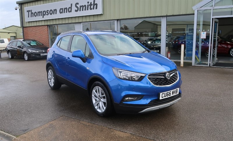 used Vauxhall Mokka X Active 1.6i (115PS) 5dr start/stop Low Mileage in louth