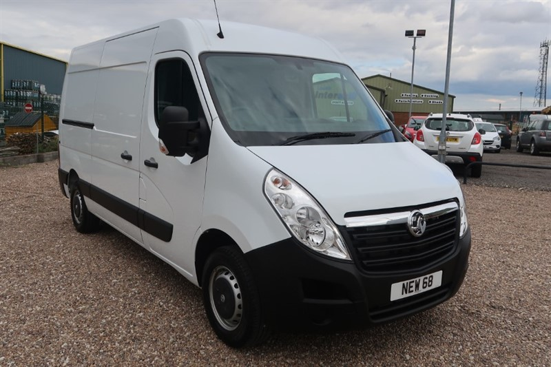 used Vauxhall Movano L2 H2 FWD 3500 2.3CDTi 110PS BlueInjection in louth