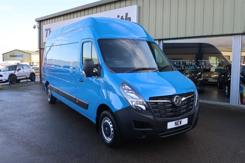 used Vauxhall Movano 2.3CDTi (135Ps) L3 H3 Panel Van NEW MODEL ! SAVE £14900 ! in louth