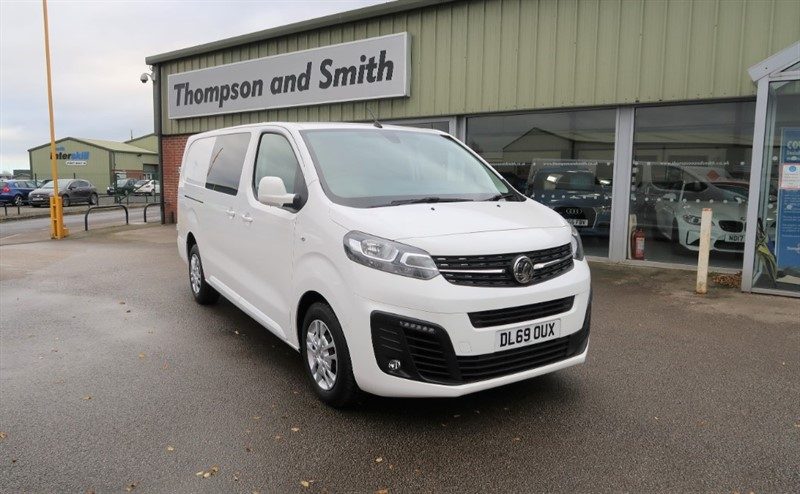 used Vauxhall Vivaro L2H1 Double Cab 3100 Sportive 2.0 (120PS) Turbo D S/S Delivery Mileage in louth