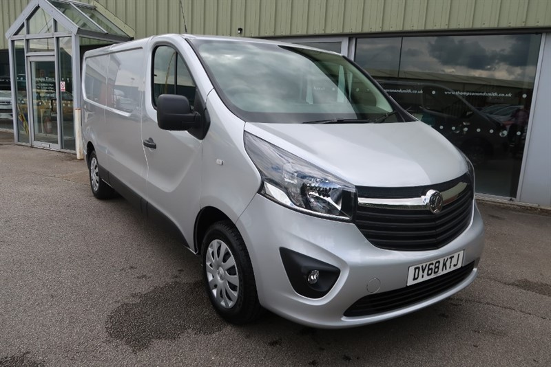 used Vauxhall Vivaro Sportive L2 H1 2900 1.6CDTi (120PS) LWB in louth