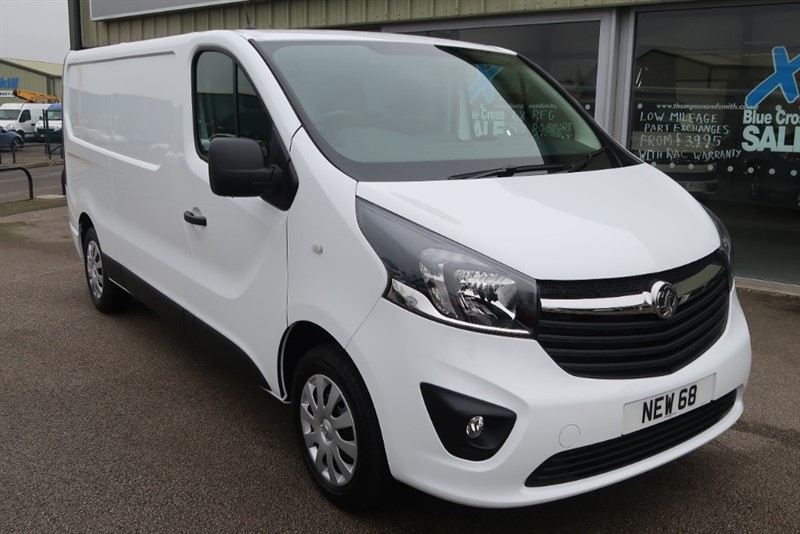 used Vauxhall Vivaro Sportive L2 H1 1.6CDTi 120PS LWB in louth