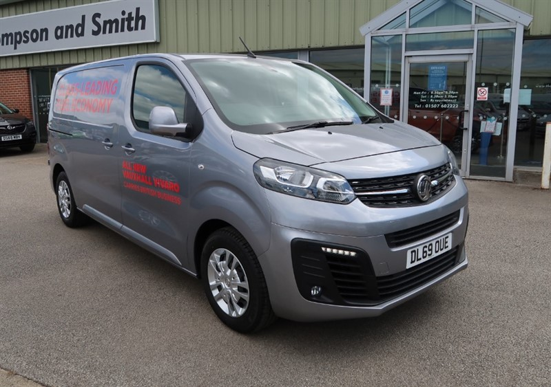 used Vauxhall Vivaro L1 H1 Sportive 2700 1.5 (120PS) Turbo D S/S Delivery miles, Big Saving! in louth
