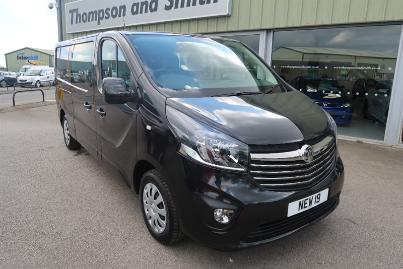 used Vauxhall Vivaro Sportive L2 H1 2900 LWB Doublecab 1.6CDTI BiTurbo (125PS) ecoTEC BlueInjection in louth