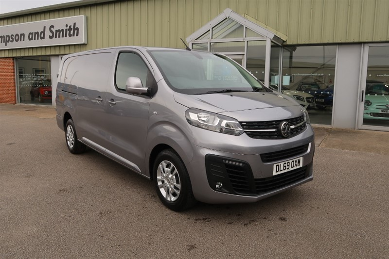 used Vauxhall Vivaro L2H1 3100 Sportive 2.0 (120PS) Turbo D S/S Delivery Mileage in louth