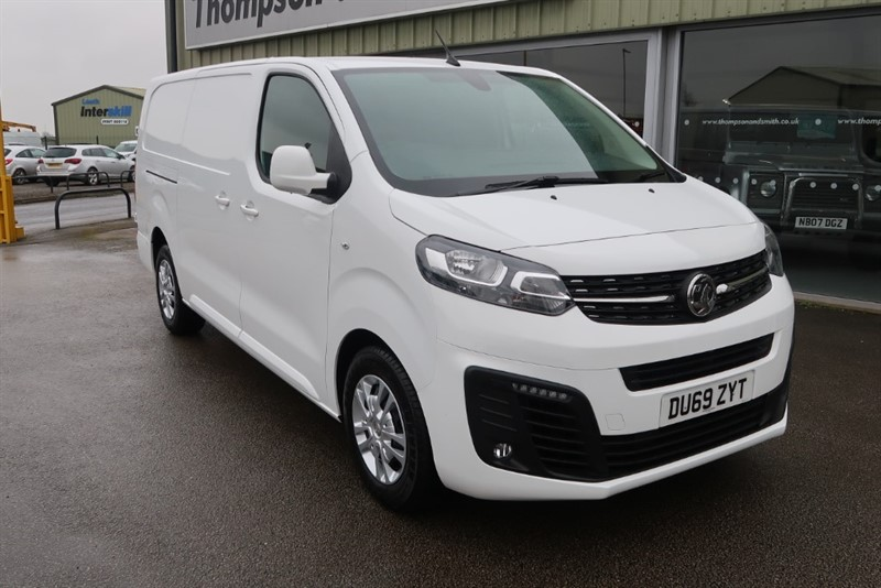 used Vauxhall Vivaro 1.5 TD (100Ps) L2H1 2900 Blueinjection SPORTIVE S/S Delivery Mileage in louth