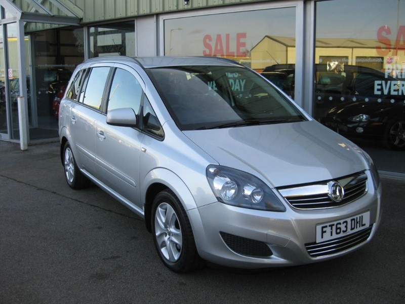 used Vauxhall Zafira Exclusive 1.8i 140PS 5dr in louth