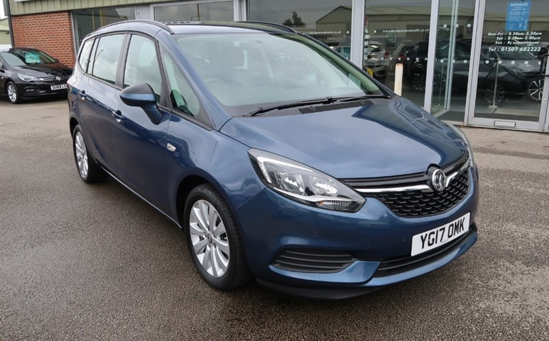 used Vauxhall Zafira Tourer Design 1.4i Turbo (140PS) 5dr 7 Seats, Low Mileage in louth