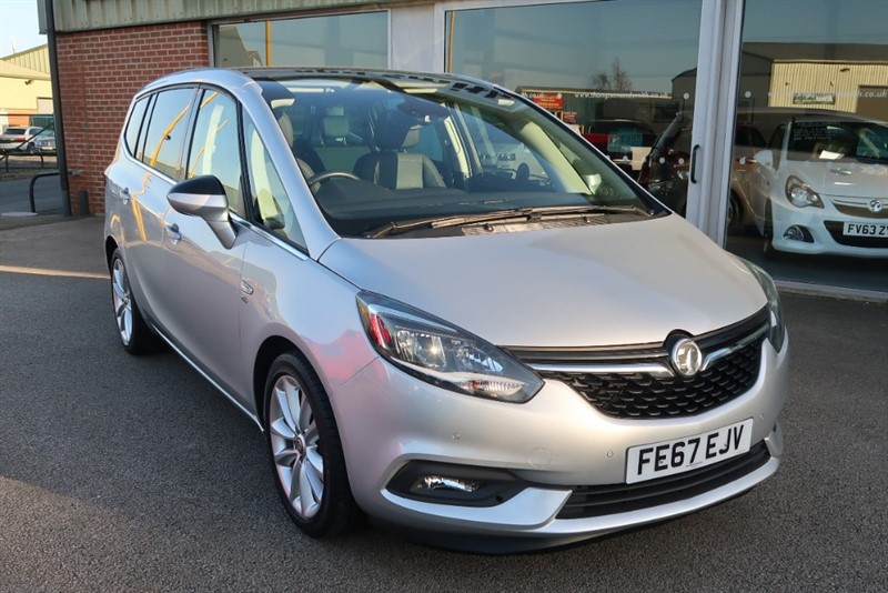 used Vauxhall Zafira Tourer Elite NAV 2.0CDTi (170PS) 5dr start/stop 7 SEATS, ONE OWNER in louth