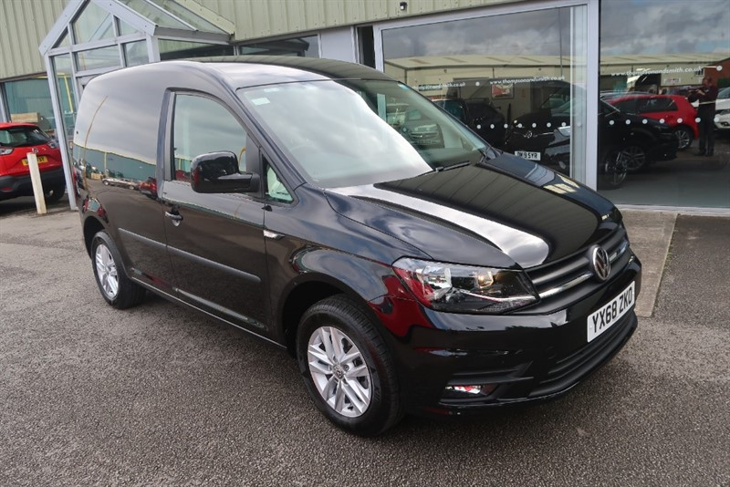 used VW Caddy 2.0TDi Bluemotion Tech 102PS Highline Nav with Rear Seat Conversion in louth