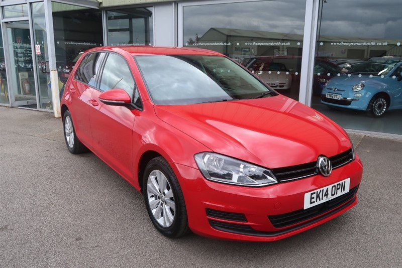 used VW Golf 1.6 SE TDI Bluemotion Technology 5dr DSG Auto in louth