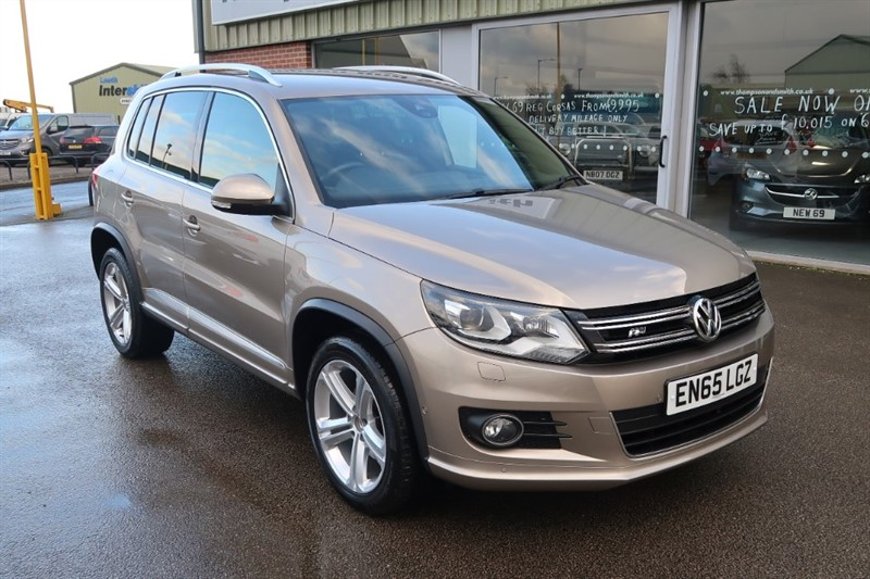 used VW Tiguan R Line Edition 2.0TDI 150PS 4MOTION DSG Auto in louth