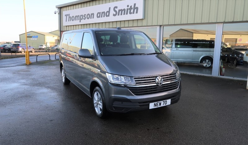 used VW Transporter 6.1 Shuttle SE 2.0TDI 150PS 7spd DSG Auto LWB in louth