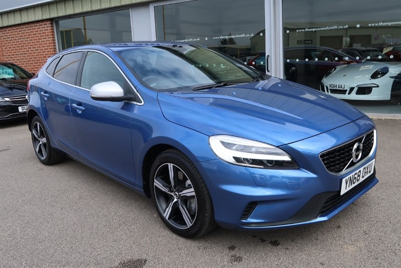 used Volvo V40 1.5 T2 122bhp R-Design Nav Plus 5dr Geartronic in louth