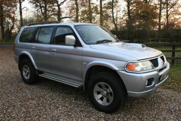 Mitsubishi Shogun Sport for sale
