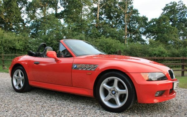 used BMW Z3 1.9 in chelmsford-essex