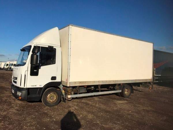 used DAF LF FA 45.160 FB 7.5T 20FT BOX WTH COLUMN TAILIFT MAUAL in chelmsford-essex