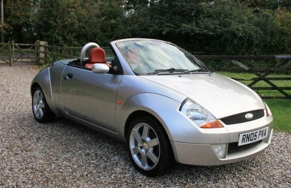 used Ford Streetka 1.6i in chelmsford-essex