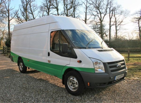 used Ford Transit H/Roof Jumbo Van TDCi 115ps [SRW] in chelmsford-essex
