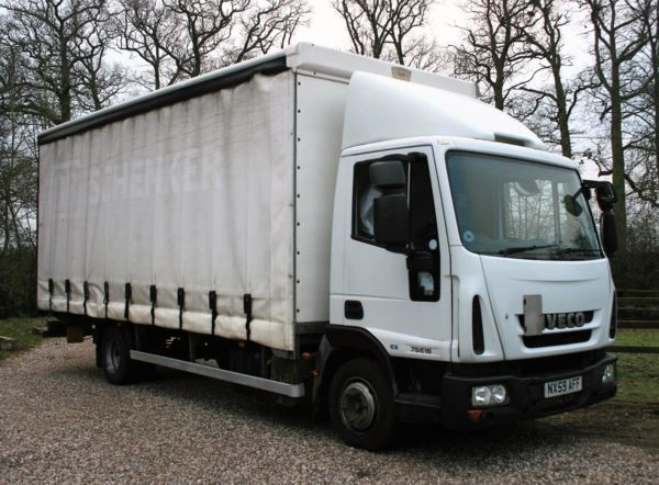 used Iveco Euro EUROCARGO 75E16S 75416 5 SEMI AUTOMATIC in chelmsford-essex